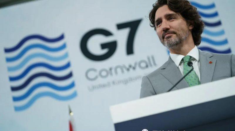 特鲁多总理结束出席富有成效的G7领导人英国峰会